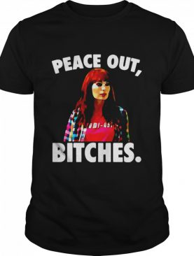 Felicia Day Peace Out Bitches shirt