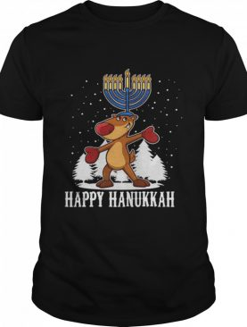 Happy Hanukkah Merry Christmas shirt