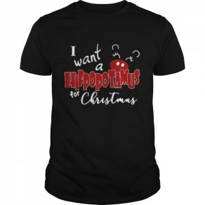 I want a hippopotamus for Christmas  Classic Men's T-shirt