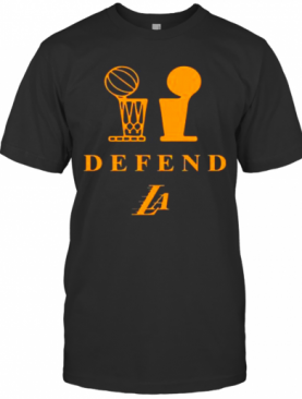 Lakers Trophy Defend T-Shirt