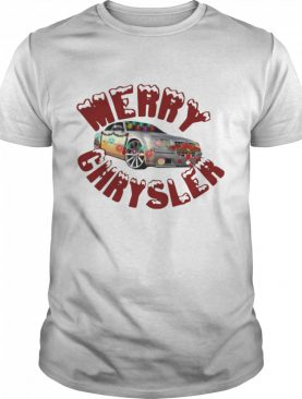 Merry Chrysler Baseball Car Ugly Christmas shirt