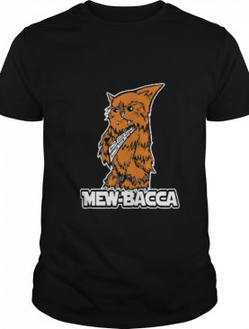 Mewbacca The Wookie Cat Wars shirt