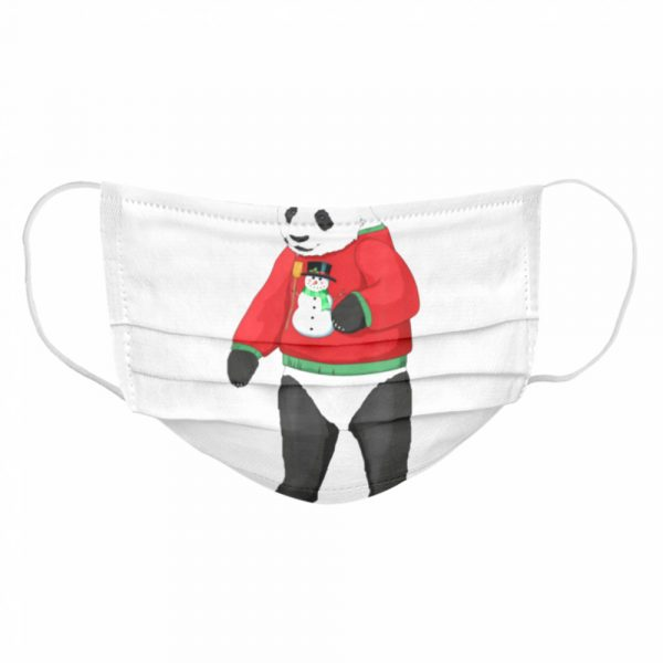 Panda for People who Love Pandas  Cloth Face Mask