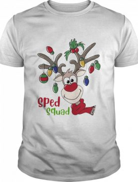 Reindeer Sped Squad Christmas shirt