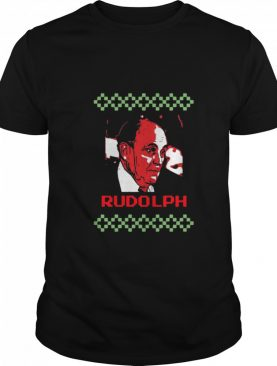 Rudolph Ugly Merry Christmas shirt