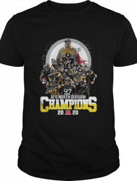 Steelers Afc North Division Champions 2020 Signatures shirt