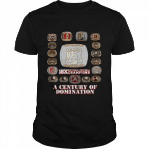 18x National Football Champions A Century Of Domination  Classic Men's T-shirt