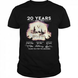 20 years 2001 2021 Harry Potter thank you for the memories  Classic Men's T-shirt