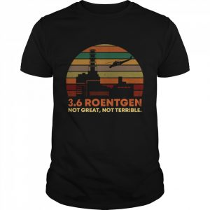 3.6 Roentgen not great not Terrible retro  Classic Men's T-shirt