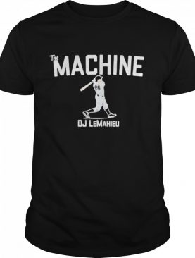 DJ LeMahieu The Machine Apparel NYC shirt