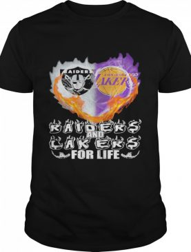 Heart Raiders and Laker for life 2021 shirt