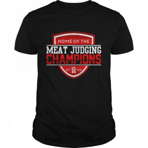 Home of the meat judging Champions est 1938  Classic Men's T-shirt
