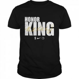 Honor king Dr. Martin Luther King signature  Classic Men's T-shirt