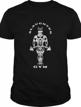 Slaughter to prevail merch slaughter gym shirt