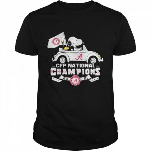 Snoopy and woodstock alabama crimson tide cfp national champions 2021  Classic Men's T-shirt