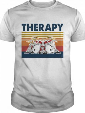 Therapy Drum Band Music Vintage shirt