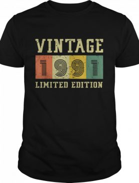 Vintage 1991 Made in 1991 shirt