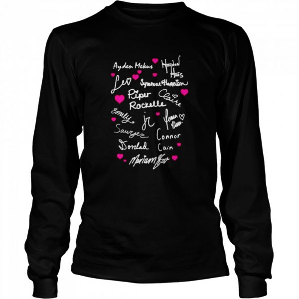 piper raquel the squad  Long Sleeved T-shirt
