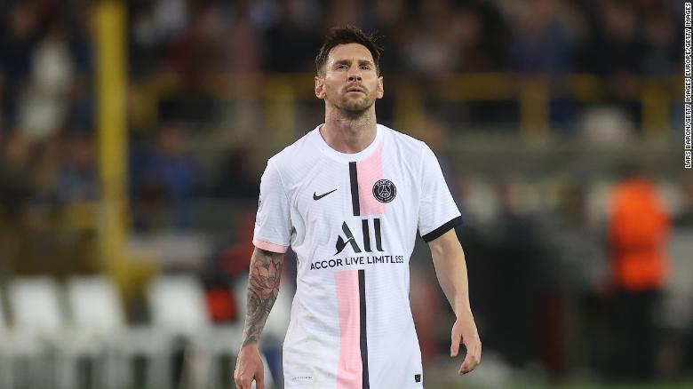 Lionel Messi's Champions League debut for PSG falls flat against Club Brugge